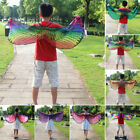 Child Girl Cloak Fairy Butterfly Bird Costume Wings Cosplay Fancy Dress Hh Sa