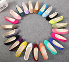 Women's Ballerina Ballet Flats Shoes Slip On Boat Loafers Single Shoes Size 5-10