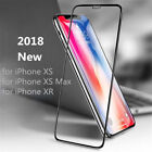 10D Full Coverage Tempered Glass Screen Protector For iPhone X XS Max XR 8 Plus
