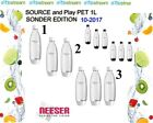 SodaStream x1/ x2/ x3 1 Liter PET Flaschen für Play & Source EASY ⭐SONDERPREIS⭐