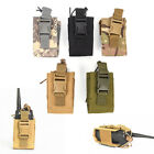 Outdoor Pouch Tactical Nylon Radio Walkie Talkie Holder Bag Magazine Mag PouchF6