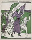 Votes for Women Social and Political Union American Vintage Poster Repo FREE S/H