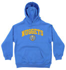 OuterStuff NBA Youth Denver Nuggets Fleece Pullover Hoodie, Blue on eBay
