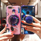 3D Camera Shockproof Back Phone Cover Shell For iPhone X Case With POP Up Holder