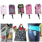Foldable Handy Shopping Bag Reusable Tote Pouch Recycle Storage Handbags WT