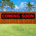 COMING SOON Advertising Vinyl Banner Flag Sign LARGE HUGE XXL SIZES USA