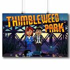 Thimbleweed Park Custom Poster Print Art Wall Decor