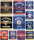 NHL Luxury Velour High Pile Blanket - Twin Size 60 x 70 Inch image