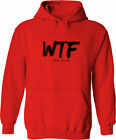 WTF (Where's the Food?) Funny Acronym Pullover Hoodie Sweater Mens Women Unisex