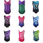 Kyпить Kids Girls Shiny Ballet Dance Gymnastics Leotards Athletic Tank Suit For  3-14Y на еВаy.соm