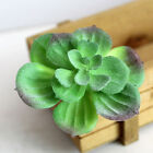 Succulent Plants Foliage Flower Mini Faux Artificial Garden Potted Decor Pot