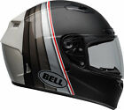 Bell Black/Silver/White Qualifier DLX MIPS Illusion Motorcycle Full Face Helmet