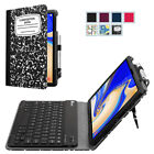 "For Samsung Galaxy Tab S4 10.5"" Tab A 10.5"" Case Cover with Bluetooth Keyboard"
