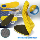 Unisex Honeycomb Shock Absorber Sweat absorption Breathable Sport Shoes Insoles