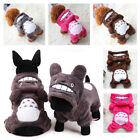 Внешний вид - Warm Totoro Hoodie Costume Apparel Dog Puppy Clothes Cat Pet Jacket Coat Sweater
