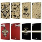 OFFICIAL NFL 2018/19 NEW ORLEANS SAINTS LEATHER BOOK WALLET CASE FOR APPLE iPAD $24.33 USD on eBay