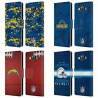 OFFICIAL NFL 2018/19 LOS ANGELES CHARGERS LEATHER BOOK CASE FOR SAMSUNG PHONES 2