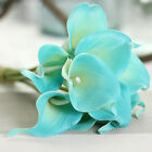 1/9 Heads Artificial Silk Simulation Fake Flower Calla Lily Wedding Home Decor