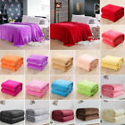 Warm Throw Super Soft Plush Velvet Blanket Sofa Home Bed Fleece Twin Queen King image