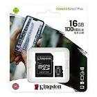 Kingston 16GB 32GB 64GB 128GB 256GB MicroSD Canvas Select Memory Card WHOLESALE <br/> USA SELLER! 100% NEW ORIGINAL PRODUCT!!! FAST SHIPPING.