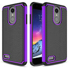 For LG Rebel 4 LTE/Phoenix 4/Tribute Dynasty/Aristo 2 Plus Shockproof Case Cover