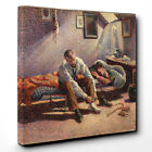 Canvas Print Art on Wall Home Decor Painting Maximilien Luce Morning, Interior