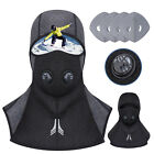 Winter Ski Cap Windproof Dustproof Filters Balaclava Face Cover Breathable Vents