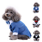 Real Gentleman Suit Clothing For Pets Animals Dogs Puppies Cats Formal Costumes