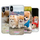 OFFICIAL BOO-THE WORLD'S CUTEST DOG PLAYFUL BACK CASE FOR APPLE iPHONE PHONES