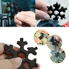 19-in-1 Multi-tool Wrench Combination Compact Outdoor Snowflake Tools