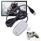 Black/white PC Wireless Controller Gaming USB Receiver Adapter for XBOX 360 M2
