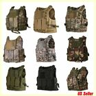 Tactical Military Vest SWAT Police Airsoft Molle Combat Assault Plate Carrier LC
