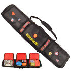 146/156/166/180cm Waterproof Snowboard Bag Travel Bag Snow Sport Ski Bag  Black