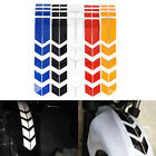 Motorcycle Reflective Stickers Wheel Car  Decals On Fender Waterproof Decors Pip