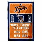 Detroit Tigers World Series Champions Flag 3Ft X 5Ft Polyester Mlb Banner Flying on Ebay