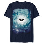 Discovery Shark Week Swim Party Logo Mens Graphic T Shirt