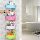 Внешний вид - Plastic Suction Cup Bath Kitchen Corner Storage Rack Organizer Shower Shelf USA