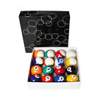 "Billiard Pool 16 Balls Set Standard Size 2-1/4"" 5.72cm pool cue chalk"
