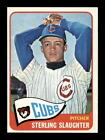 1965 Topps #314 Sterling Slaughter Chicago Cubs Select A Grade Free Shipping