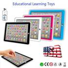 Kids Children TABLET PAD Educational Learning Toys Gift For Boys Girls Baby  New
