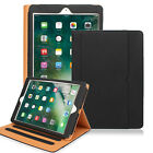 New Stand Leather Wallet Folio Smart Case Cover+3pcs Films For Apple iPad 2 3 4
