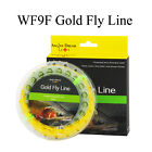 Gold Fly Line WF 2 3 4 5 6 7 8 9WT Floating Fly Fishing Line with 2 welded loop
