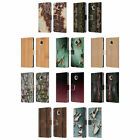 OFFICIAL PLDESIGN WOOD AND RUST PRINTS LEATHER BOOK CASE FOR MOTOROLA PHONES