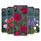 HEAD CASE DESIGNS ROSES AND WILDFLOWERS SOFT GEL CASE FOR HTC PHONES 1