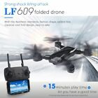 LF609 drone remote control quadcopter 2.4G collapsible aircraft children's toys