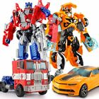 "Buy ""Optimus Prime/Bumblebee model kids toys Transformers toy car plastic Robots toys"" on EBAY"