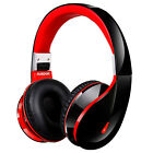 AUSDOM Wireless Bluetooth Headphones Stereo Foldable Headset W/ Microphone EDR