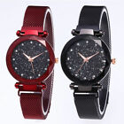 Luxury Women Starry Sky Watch Magnet Strap Buckle Female Fashion w/ Star Tik Tok image