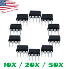 Ne555p Ne555 Dip-8 Ti High Precision Oscillator Timer Ic 555 10/20/50 Pcs Us