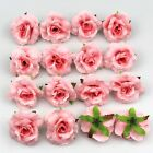 DIY 50X Artificial Fake Rose Silk Flower Head Wedding Party Home Garden Decor